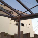 ポリカーボネートの屋根がついてるので雨も紫外線も防げます